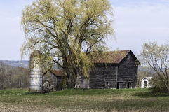 Aging Farmstead. Years take its' toll on an aging farm in Duanesburg, New York Stock Photography