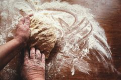 Yeast and baking lessons. stock photos