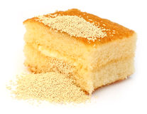 Yeast with bread royalty free stock photo