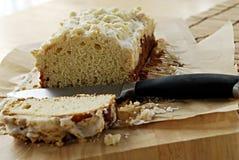 Yeast cake with crumble Stock Photo