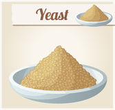 Yeast. Detailed Vector Icon Royalty Free Stock Photo