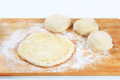 Yeast dough Royalty Free Stock Photos