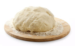 Yeast Dough Stock Photo