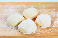 Yeast dough Stock Image