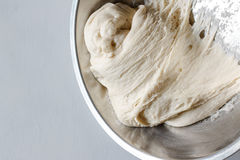 Yeast dough. Of homemade bread or pizza Stock Images