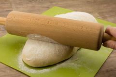 Yeast dough Stock Images