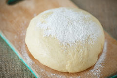 Yeast dough Royalty Free Stock Image