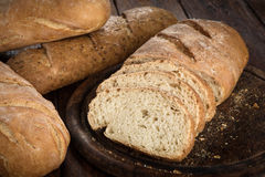 Yeast Free Healthy Homemade Bread Royalty Free Stock Photo