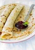Yeast pancakes Royalty Free Stock Image