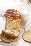 Yeast pull apart sweet bread with cream cheese Stock Images