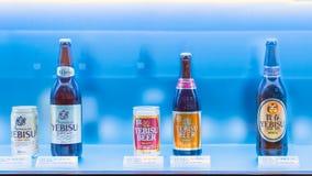 Yebisu啤酒博物馆在东京,日本 库存图片