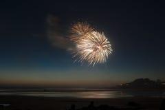 Yechats Oregon, quarto dei fuochi d'artificio di luglio Fotografie Stock Libere da Diritti