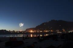 Yechats Oregon, quarto dei fuochi d'artificio di luglio Immagini Stock Libere da Diritti
