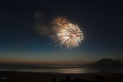 Yechats Oregon,  4th of July Fireworks. Royalty Free Stock Photos
