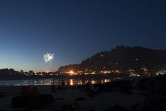 Yechats Oregon,  4th of July Fireworks. Royalty Free Stock Images
