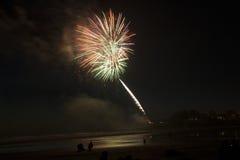 Yechats Oregon,  4th of July Fireworks. Stock Image