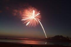 Yechats Oregon, 4. von Juli-Feuerwerken Stockbilder