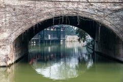 Yechun tehus i den Yangzhou staden Royaltyfri Bild