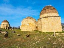Yeddi Gumbez mausoleum royaltyfria foton