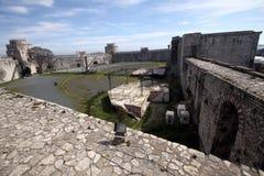 Yedi Kule Castle. Istanbul Walls in istanbul,Turkey Royalty Free Stock Photo
