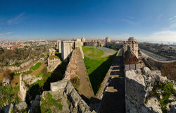 Yedi-kule Festung in Istanbul Lizenzfreie Stockfotos