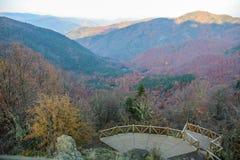 Yedigöller Nationaal Park, de Herfst stock foto