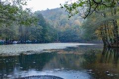 Yedigoller国家公园 美丽, bolu 免版税库存照片