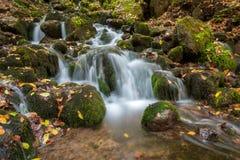 yedigoller瀑布的风景照片 库存图片