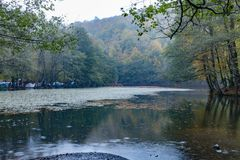Yedigoller National Park. Beautiful, bolu. royalty free stock photos