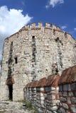 Yedikule堡垒塔的片段  库存图片