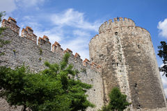 Yedikule Castle in Istanbul Royalty Free Stock Images