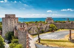 Yedikule-Festung in Istanbul lizenzfreie stockbilder