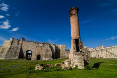 Yedikule fortress in Instanbul Royalty Free Stock Photo