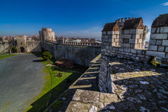 Yedikule fortress in Instanbul Royalty Free Stock Photography
