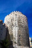 Yedikule fortress in Instanbul Royalty Free Stock Photos
