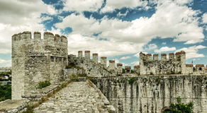 Yedikule Fortress in Istanbul Royalty Free Stock Photography