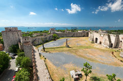 The Yedikule Fortress in Istanbul, Turkey Stock Photography