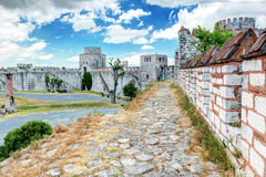 The Yedikule Fortress in Istanbul, Turkey Royalty Free Stock Images