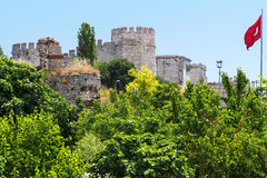 The Yedikule Fortress in Istanbul, Turkey Stock Image