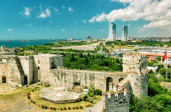 Yedikule Fortress in Istanbul Stock Photography