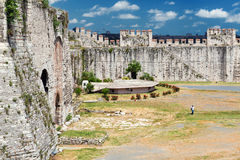 The Yedikule Fortress in Istanbul, Turkey Stock Images