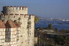Yedikule Fortress Royalty Free Stock Images