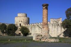 Yedikule Fortress Royalty Free Stock Photo
