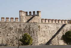 Yedikule Fortress Royalty Free Stock Photography