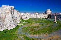 Yedikule Hisarlari (fortaleza) de sete torres Istanbu Imagens de Stock Royalty Free