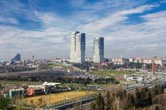 Yedikule Hisarlari (fortaleza) de sete torres Istanbu Fotografia de Stock