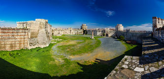 Yedikule Hisarlari (Seven Towers Fortress) Istanbu Royalty Free Stock Photo