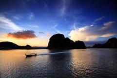 yee Таиланда лотка острова Стоковое фото RF