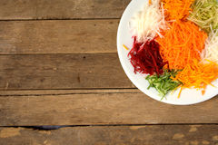 Yee cantó Alimento chino Foto de archivo