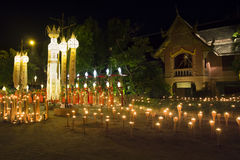 Yee-Peng festival in Chiang mai Thailand Stock Photos